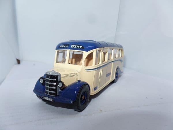 Corgi C949/2 1/50 Scale Bus  Coach Bedford OB Royal Blue Exeter  UB