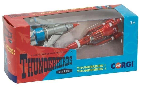 CORGI  CC00901 Gerry Andersons Thunderbird 1 & 3 TB1 TB3