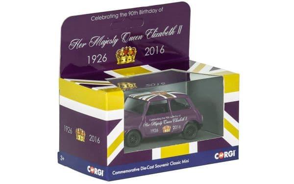 Corgi CC82107 1/36 Mini Her Majesty Queen Elizabeth II 90th Birthday