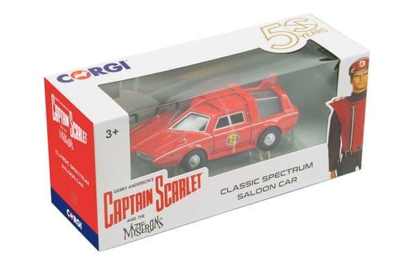 CORGI  CC96307 Captain Scarlet Classic Spectrum Saloon Car 120mm long
