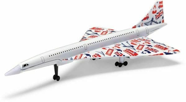 Corgi GS84007 Best of British Concorde Union Jack Livery Diecast Model