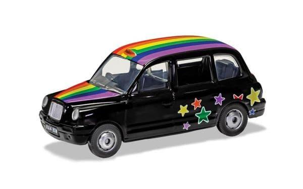 Corgi GS85929 London Austin TX4 Taxi Cab Taxicab Rainbow 1:36 Scale