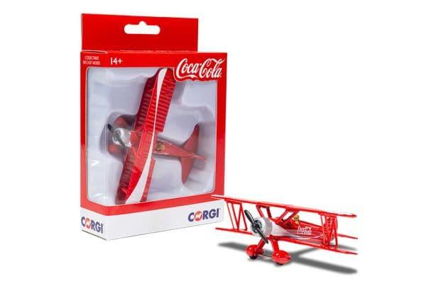 CORGI GS99727 Stearman Bi-Plane Coca Cola  MIMB