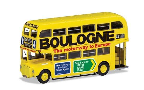 Corgi OOC OM46315B AEC Routemaster London Transport R 88 Mitcham Boulogne Yellow Ad