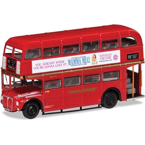 Corgi OOC OM46316B AEC Routemaster London Transport Heritage 15 Trafalgar  Mamma Mia