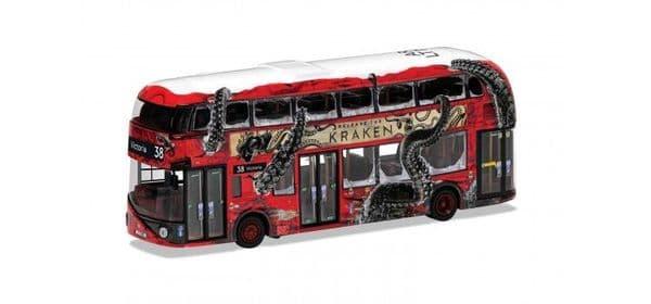 Corgi OOC OM46624 B OM46624 B  NBFL Routemaster  London Arriva Victoria Release the Kraken MIMB