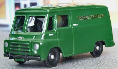 Corgi Trackside DG201 Morris LD Van London Transport Green UB