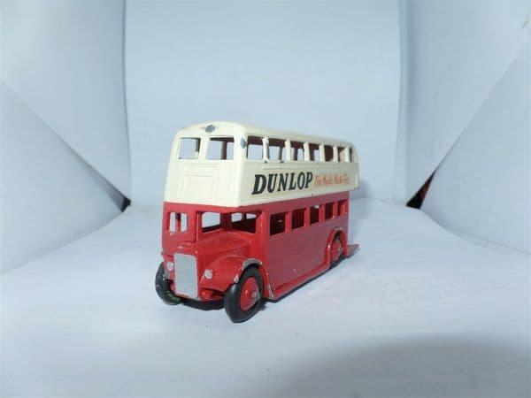 Dinky 29C 290 Bus Red & Cream Leyland Radiator Dunlop UB