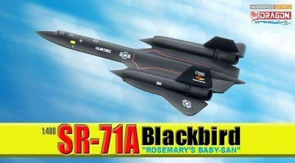 Dragon 56222 1:400 Scale Model SR-71A Blackbird Rosemary's Baby-Sam