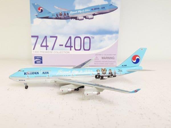 Dragon Wings 56218 1/400 Korean Air Passionate Wings to Culture HL7488