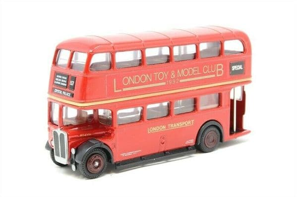 EFE 10110A AEC RT Bus London Transport Toy & Model Club 1992 Crystal Palace MIB