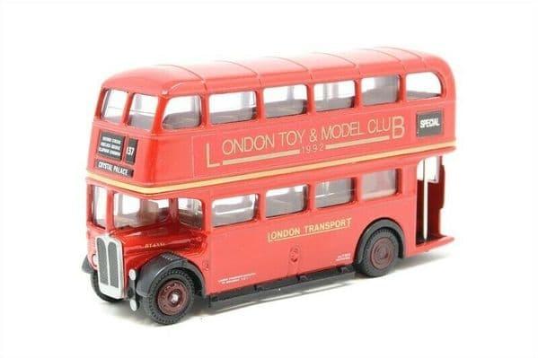 EFE 10110A AEC RT Bus London Transport Toy & Model Club 1992 Crystal Palace UB