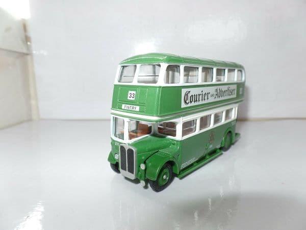 EFE 10113 10113A AEC Ex London  RT Bus Dundee Rare White Blind Model UB