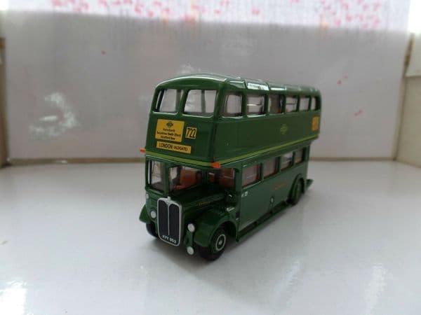 EFE 10133  AEC RT London Transport Green Line Greenline 722 Aldgate MIMB