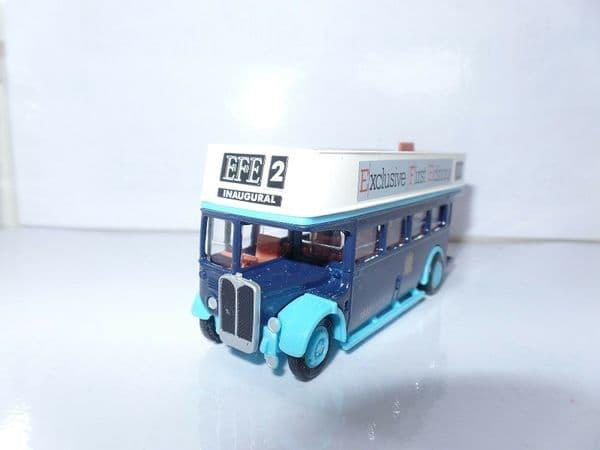 EFE 102003 AEC RT Opentop Bus  EFE2 Inaugural UB