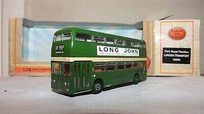 EFE 18205  Daimler Fleetline XF Bus London Transport Country  271 Moorgate MIMB
