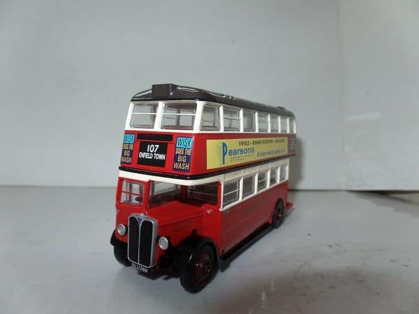 EFE 27809B AEC STL Bus London Transport Red Pearsons Dept Store UB