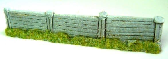 EFE Base BT Jarvis PF14 True 1/76 OO Scale Concrete Fencing