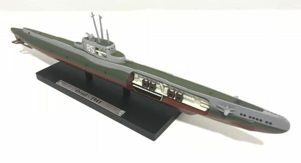 HX10 Atlas DeAgostini 1/350 Scale Submarine Poland Polish Orzel 1941 WWII