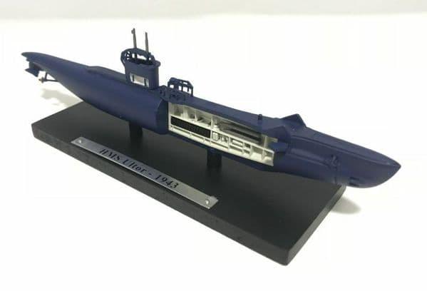 HX13 Atlas DeAgostini 1/350 Scale Submarine British Royal Navy HMS Ultor 1943