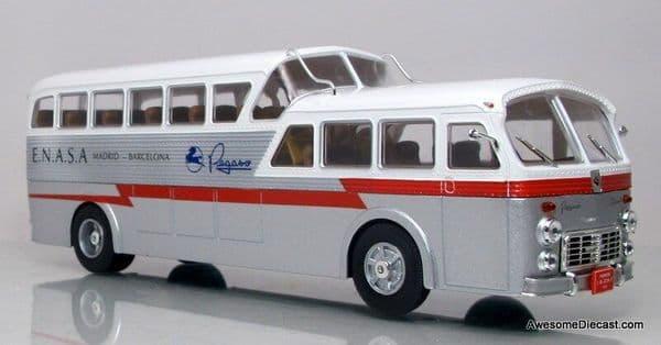 IXO Hachette HC08 1/43 Scale Bus  Pegaso Z-403 Monoscocca Spain Madrid - Barca ENASA