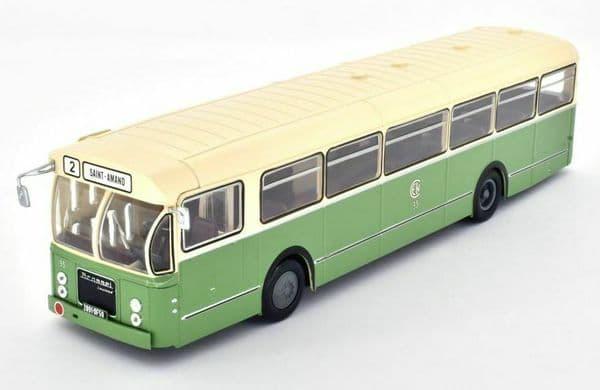 IXO Hachette HC67 1/43 Scale Brossel BL55 Valenciennes 84 Bus Coach France 1966