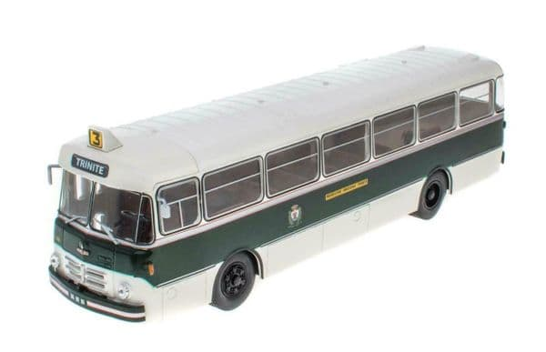 IXO Hachette HC69 1/43 Scale Berliet PLR 8 MU 105 Bus Coach Trinite Nice France 1956