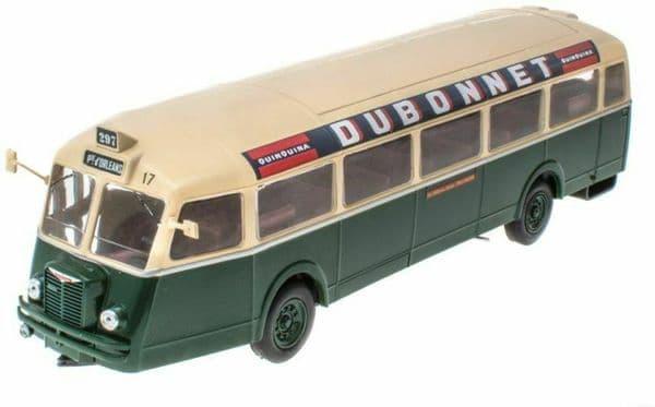 IXO Hachette HC75 1/43 Scale Chausson APH-47 RATP 10 Bus Coach Paris France 1947 Dubonnet