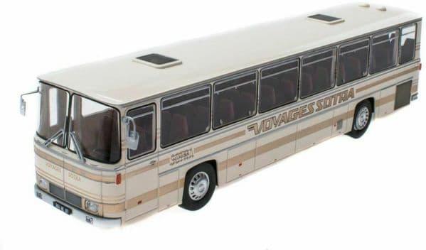 IXO Hachette HC80 1/43 Scale Saviem E7 L 75  Bus Coach Canada 1970 Voyages Sotra