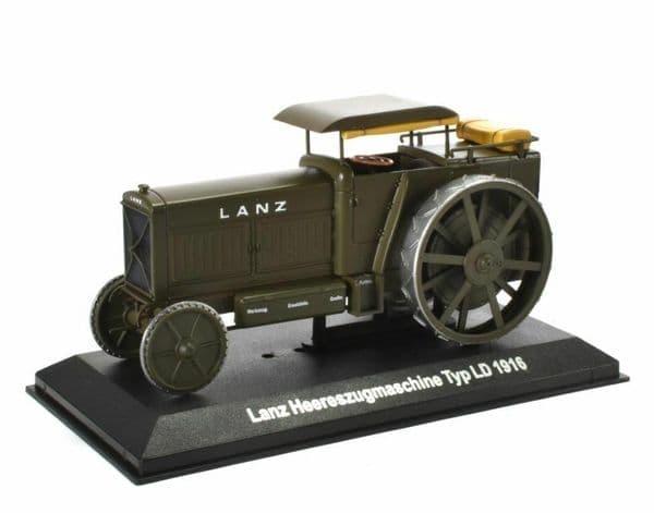 IXO HL11 1/43 Lanz Heereszugmaschine Typ LD 1916 - Tractor Traction Engine