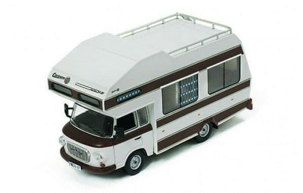 IXO IST297MR 1/43 Scale Barkas B1000 1973 - Wohnmobil Mobile Camper Home