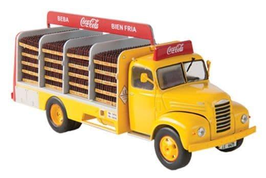 IXO MW03 1/43 Scale Ebro B-45 Ford Thames Truck 1962 Coca Cola Coke Yellow / Red