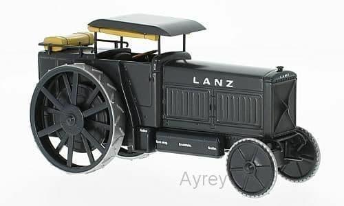 IXO TRA006 1/43 Lanz Heereszugmaschine Typ LD 1916 - Tractor Traction Engine