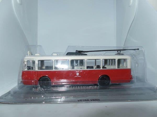 Kultowe Auta PRL JM29 1/72 Scale Vetra VBRH - Trolleybus