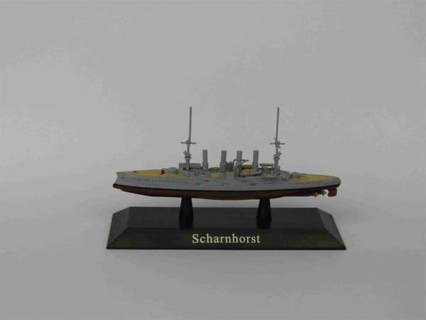 KZ42 Atlas DeAgostini 1/1250 Scale German SCHARNHORST Armoured cruiser 1907