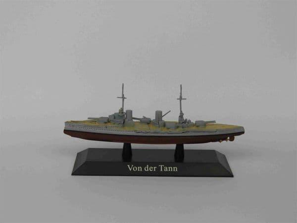 KZ44 Atlas DeAgostini 1/1250 Scale German VON DER TANN Battle cruiser 1910