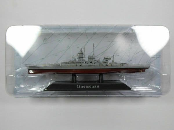 KZ51 Atlas DeAgostini 1/1250 Scale German Gneisenau Battleship 1930