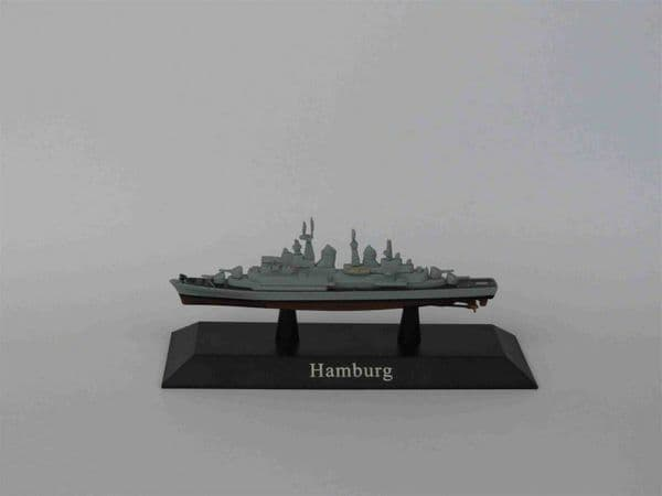 KZ63 Atlas DeAgostini 1/1250 Scale German Hamburg Class Destroyer 1960
