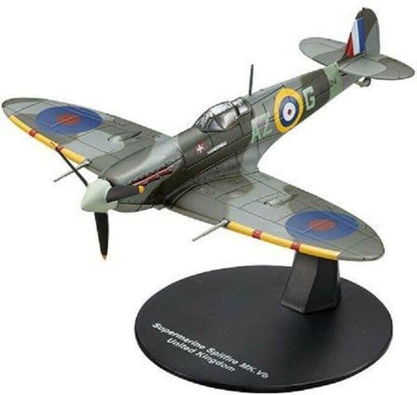 LG09 1/72 Scale  Supermarine Spitfire Fighter MK5-b British RAF World War II
