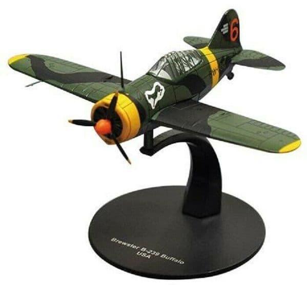 LG27 1/72 Scale Bewster B-239 Buffalo Fighter USA American Air Forc World War II
