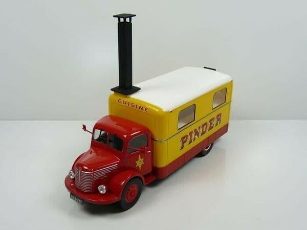 LK02 1/43 Unic Cuisine Circus Pinder Kitchen Truck