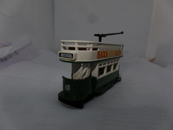 Lledo DG109002 Dick Kerr Tram Blackpool Fleetwood Saxa Salt UB
