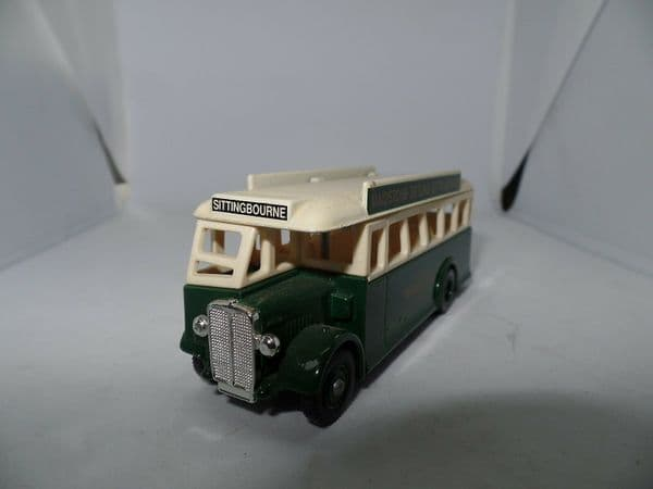 Lledo DG17 AEC Regal  Bus Maidstone & District Darling Buds of May Sittingbourne