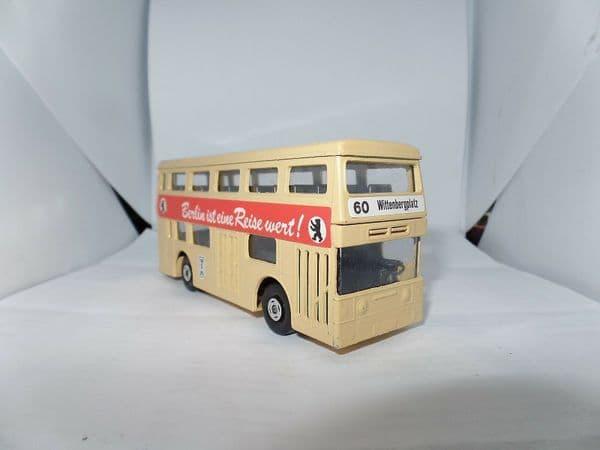 Matchbox Superkings K15 Daimler Fleetline Bus Berlin UB