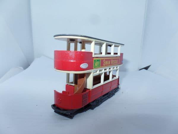 Matchbox Yesteryear  Y15 D 1920  Preston Tram London Transport Swan Vestas UB