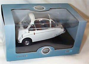 Oxford 18HE004 HE004 1/18 Scale Heinkel Kabine Bubble Car Grecian White