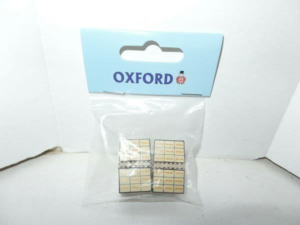 Oxford 76ACC004 ACC004 1/76 OO Scale set of 4  Pallet Truck Load Shredded Wheat