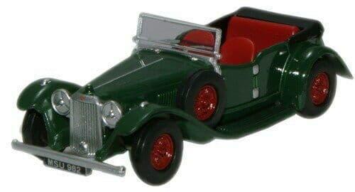Oxford 76ALV004 ALV004 1/76 OO Scale Alvis Speed 20 British Racing Green