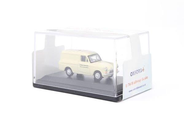 Oxford 76ANG018 ANG018 1/76 OO Ford Anglia Van Walls Ice Cream Van Little Man