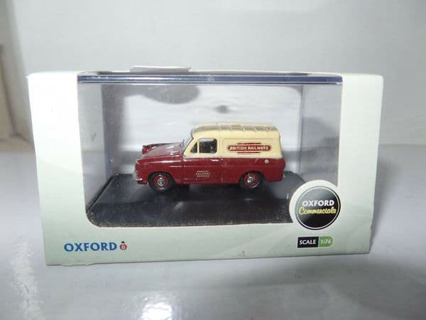 Oxford 76ANG037 ANG037 1/76 OO Scale Ford Anglia Van British Rail Railways